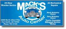 Mack's Auto Repair